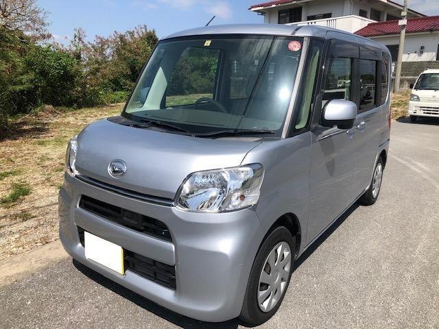 沖縄県の中古車ならタント X SA パワステ パワーウィンド オートエアコン ABS Wエアバック バックカメラ 電動格納ミラー パワースライドドア