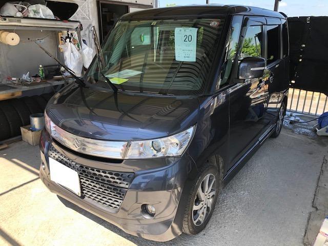 沖縄の中古車 スズキ パレットSW 車両価格 55万円 リ済込 2012(平成24)年 8.1万km ガンM