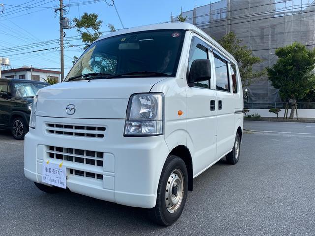 沖縄の中古車 マツダ スクラム 車両価格 35万円 リ済込 2014(平成26)年 11.5万km ホワイト
