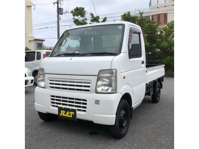 沖縄の中古車 スズキ キャリイトラック 車両価格 39万円 リ済込 2013(平成25)年 12.9万km ホワイト