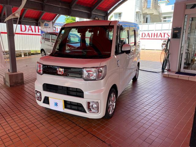 沖縄の中古車 ダイハツ ウェイク 車両価格 135万円 リ済込 2018(平成30)年 1.4万km パールホワイト