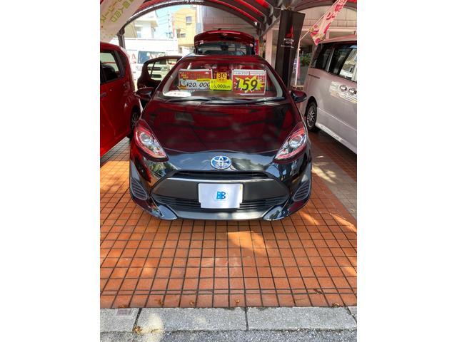 アクア(トヨタ) メーカー保証継承 ナビ Bluetooth バックカメラ ETC 中古車画像