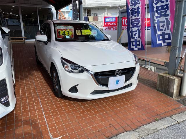沖縄県那覇市の中古車ならデミオ 13Sツーリング メーカー保証継承 ナビ バックカメラ ETC Bluetooth USB