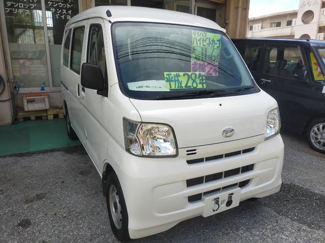 沖縄の中古車 ダイハツ ハイゼットカーゴ 車両価格 59万円 リ済込 2016(平成28)年 11.6万km 白
