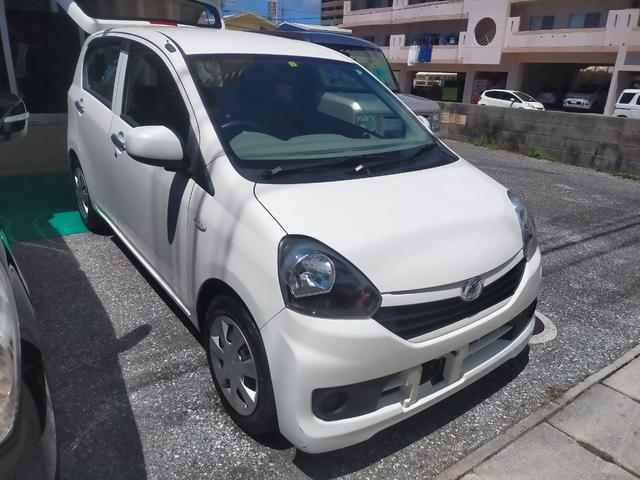 沖縄県の中古車ならミライース L キーレス パワーウィンドウ 純正オーディオ アイドリングストップ Wエアバック