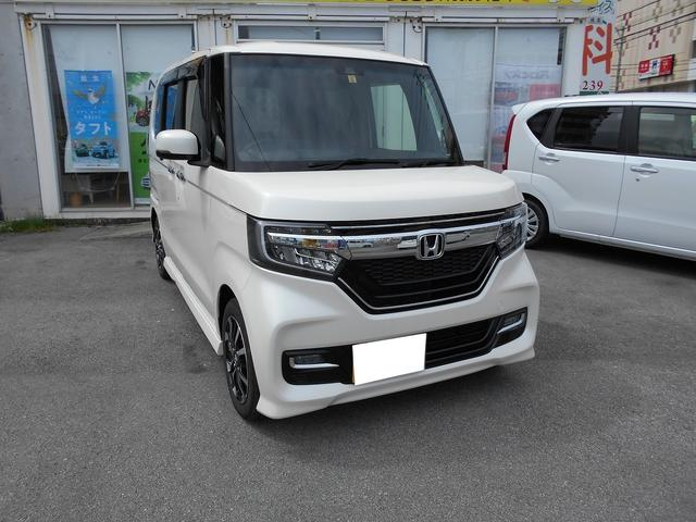 沖縄県糸満市の中古車ならN-BOXカスタム G・EXホンダセンシング