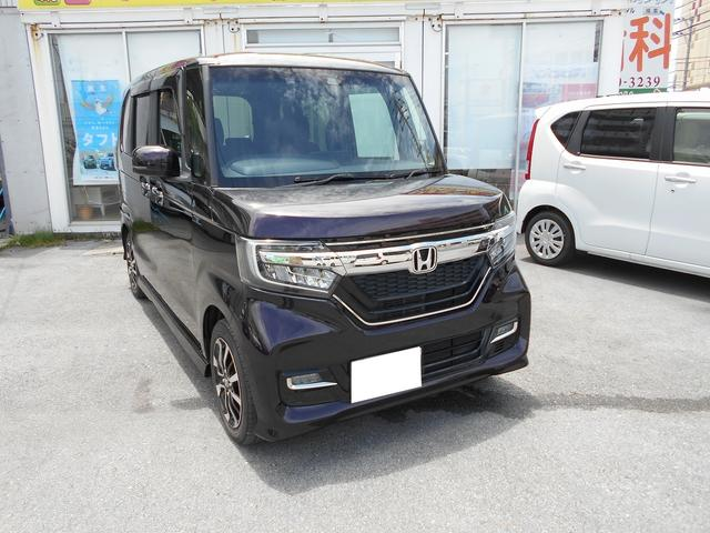 沖縄県糸満市の中古車ならN-BOXカスタム G・Lホンダセンシング