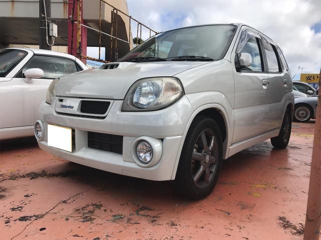 沖縄の中古車 スズキ Keiワークス 車両価格 43万円 リ済込 2004(平成16)年 11.9万km ホワイト
