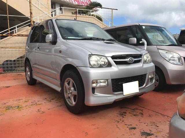 沖縄の中古車 ダイハツ テリオスキッド 車両価格 36万円 リ済込 2007(平成19)年 8.6万km シルバー