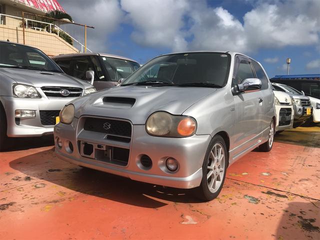 沖縄の中古車 スズキ アルトワークス 車両価格 38万円 リ済込 1999(平成11)年 9.4万km シルバー