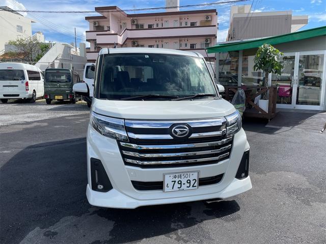 沖縄の中古車 ダイハツ トール 車両価格 190万円 リ済込 2020(令和2)年 0.2万km ホワイトIII