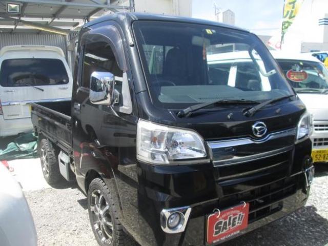 沖縄の中古車 ダイハツ ハイゼットトラック 車両価格 88万円 リ済込 2015(平成27)年 12.0万km ブラックM
