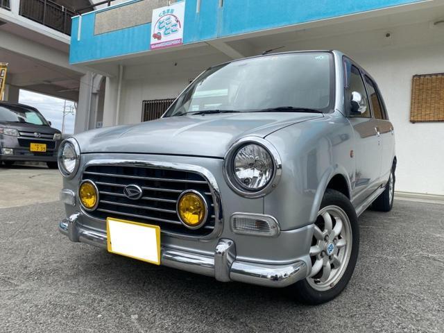 沖縄県糸満市の中古車ならミラジーノ ミニライトスペシャル ミニライトグリル ミニライトホイール ブラックウッドパネル 4AT 社外オーディオ