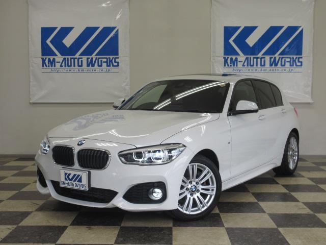 BMW 118i Mスポーツ SR Bカメラ ナビ ETC AW