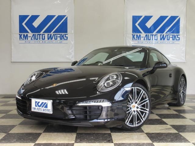 ポルシェ 911カレラブラックエディション type991NAカレラ最終特別仕様車!!! BOSEサウンド ドライブレコーダー フルセグTV スポーツクロノPKG PASM LEDヘッドライト(PDLSプラス) 20AW スポーツエグゾースト