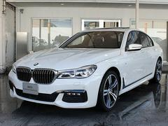 BMW740d xDrive Mスポーツ20AWSR黒革