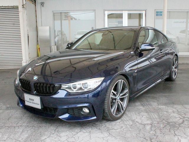 BMW 420iクーペ Mスポーツ B48EG OP19AW 黒革