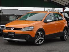 VW ポロクロスポロ SDナビフルセグ Bカメラ ドラレコ 禁煙車