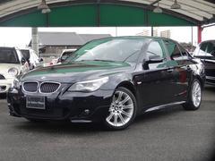 BMW530i Mスポーツパッケージ SR 黒革 Bカメラ 禁煙車