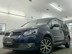 VW ゴルフトゥーランTSI ハイライン 新品タイヤ2本 SDナビ フルセグTV