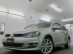 VW ゴルフヴァリアントTSIハイラインBMT パノラマガラスルーフ レーザーPKG