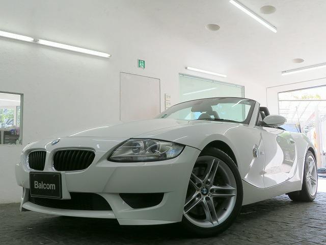 BMW Z4 Mロードスター キセノンヘッドライト 純正18inアルミホイール ブラックレザーシート パワーシート シートヒーター マルチファンクションステアリング ETC リアPDC