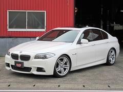 BMW528i Mスポーツ 車高調 黒レザー SR OP19インチ