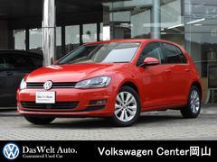 VW ゴルフTSIコンフォートライン BMT 純正ナビ 認定中古車