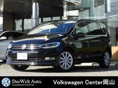 VW ゴルフトゥーランTSI ハイライン LEDヘッドライト 純正ナビ 認定中古車