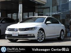 VW パサート2.0TSI Rライン デジタルパネル 黒レザー 認定中古車