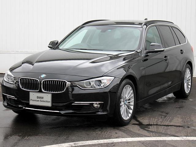 BMW 3シリーズ 320iツーリング ラグジュアリー黒革 オート...
