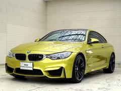 BMWM4クーペ OP19AW OPMサスペンション 黒革 LED