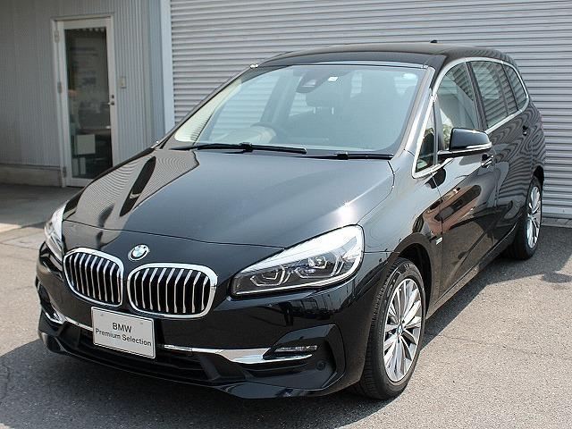 BMW 218dグランツアラー ラグジュアリーLCIモデル黒革