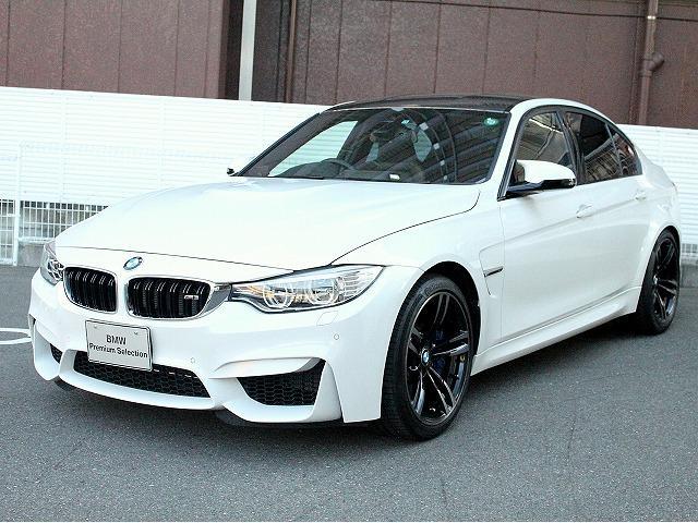 BMW M3 LCIモデル アダプティブMサスペンション