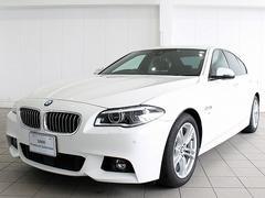 BMW523d Mスポーツ OP LEDヘッドライト 黒革 ACC