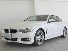 BMW435iクーペ Mスポーツ LEDライト OP19AW 黒革