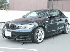 BMW135i ガラスSR 黒革 18AW 純正iDriveナビ