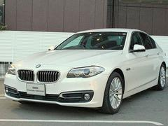BMW523d ラグジュアリー黒革 ACC 18AW 車線逸脱警告