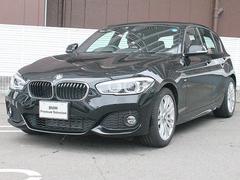 BMW118d MスポーツLEDライトPサポート17AWクルコン