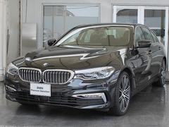 BMW523d ラグジュアリー20AW 黒革 ACC 車線逸脱警告