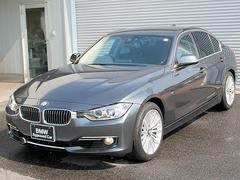 BMW328iラグジュアリー黒革 18AW クルコン 車線逸脱警告