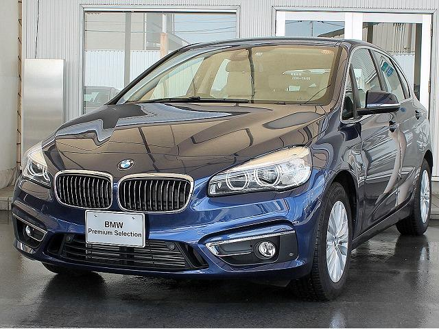 BMW 218dアクティブツアラー ラグジュアリー ベージュ革