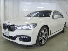 BMW740i MスポーツLED20AWSR茶革Aクルコン