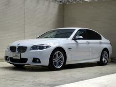 BMW523i MスポーツLED18AW黒革Aクルコン