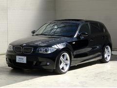 BMW130i MスポーツSR黒革Gナビ18AWキセノン