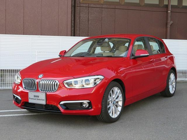 BMW 118d ファッショニスタ 本革 17AW ACC Bカメラ