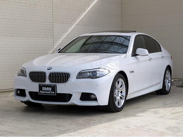 BMW 528i Mスポーツ 左ハンドル 黒革 サンルーフ 18AW