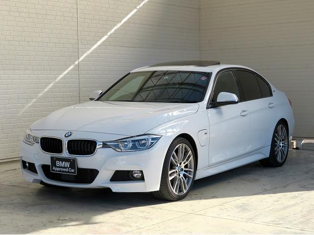 BMW 330e Mスポーツ SR 黒革 OP19AW ACC