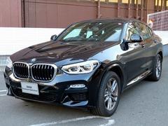BMW X4xDrive 30i Mスポーツ 黒革 19AW ACC