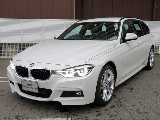 BMW 318iツーリング Mスポーツ 黒革 18AW Aトランク